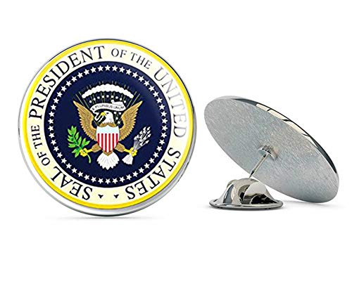 - NYC Jewelers Seal of The President of The United States (Yellow Blue Presidential Logo) Metal 0.75
