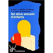 LES ABUS SEXUELS D'ENFANTS