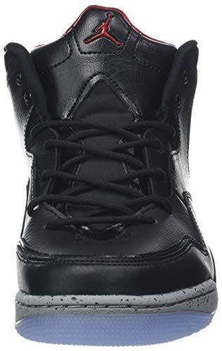 23 de Particle NIKE Red Gym Grey Jordan Zapatos 023 Black Hombre para Courtside Baloncesto Negro SEEZqgI