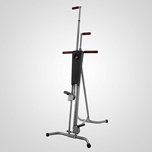 LCD Vertical Climber Stepper Climbing Machine Home Use Digital Calorie 200Kg by Happybeamy (Image #3)'