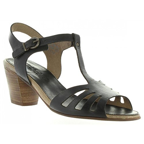 50 470600 8 NOIR SEATTLE Sandals KICKERS Women wUCtq7Zt