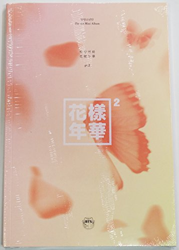 """BTS - In The Mood For Love PT.2 [PEACH ver.] CD + Photobook + Photocard + Official Folded Poster(23""""x17"""") +..."""