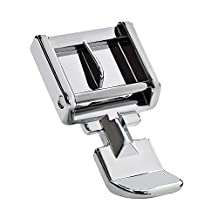 MS Zipper Sewing Machine Presser Foot - Fits All Low Shank Snap-On Singer*, Brother, Babylock, Euro-Pro, Janome, Kenmore, White, Juki, New Home, Simplicity, Elna and More!