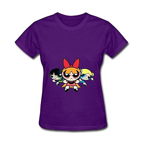 Women's Powerpuff Girls Short Sleeve T-Shirt -