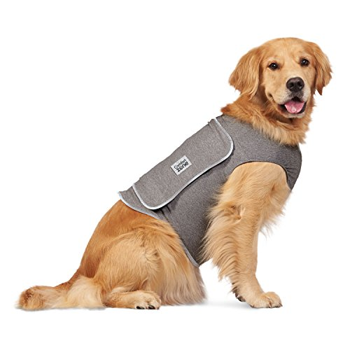 Comfort Zone Calming Vest for Dogs, Large, For Thunder and Anxiety