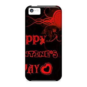 Iphone 5c Happy Valentine Day Print High Quality Tpu Gel Frame Cases Covers