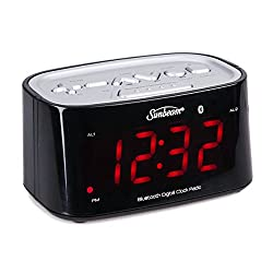 Sunbeam CR1009 Clock Radio w/ Bluetooth Connectivity