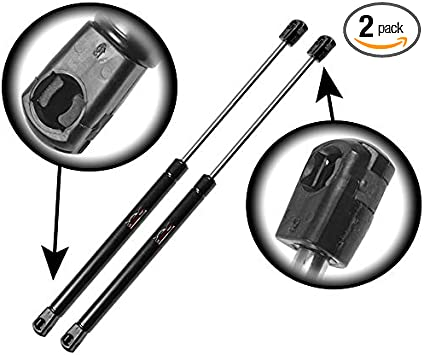 X AUTOHAUX 2pcs Rear Trunk Lift Supports Struts Shocks Gas Spring PM1118 for Saturn Vue 2002-2007