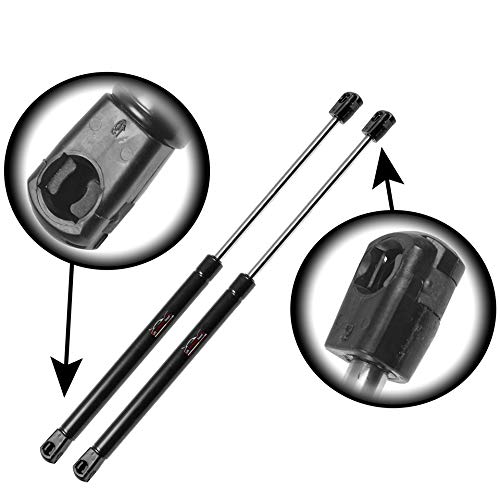 (Qty (2) StrongArm 6803 Rear Trunk Lift Supports Struts Shocks Springs Props (With Spoiler))