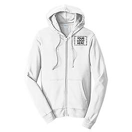 Fan Favorite Fleece Full-Zip Hooded Sweatshirt  36 Qty  34.98 Each Promotional Sweatshirt with Your Logo