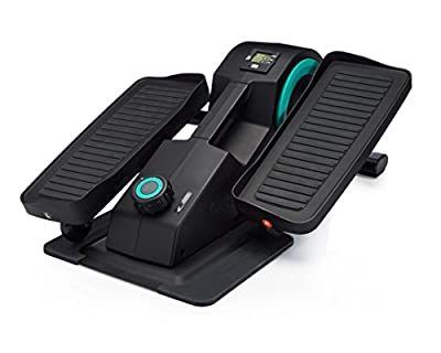 Cubii Jr: Desk Elliptical w/Built in Display Monitor, Easy Assembly, Quiet & Compact, Adjustable Resistance