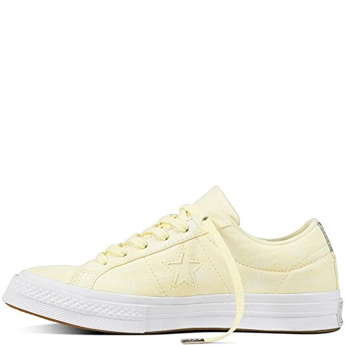 Basses Gelb Ox Weiß Wash Sneakers Peached Star Jaune Converse One Weiß Cons Femme gelb Xwx7q0Xp6H