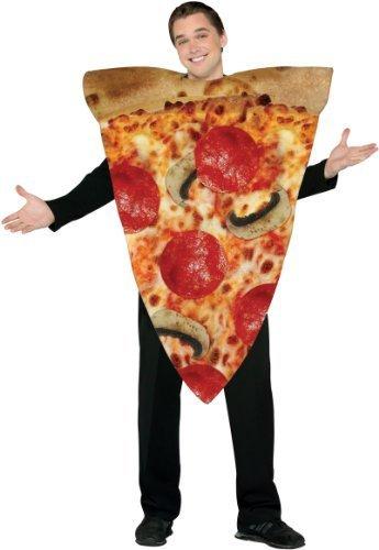 Rasta Imposta Pizza Slice Costume, Multi-Colored, One