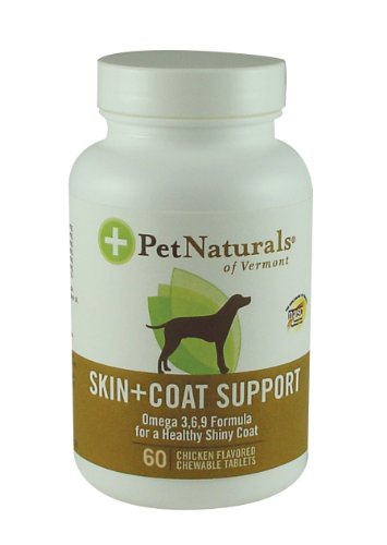 Pet Naturals of Vermont Skin and Coat Support for Pets, My Pet Supplies