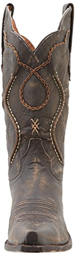Dan Men's Rust Western Post Boot Chocolate Tyree vgnqwSvRr