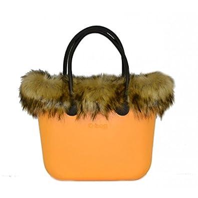 9128c06fd O BAG Women'sCanvas & Beach Tote Bag BECCO D'OCA: Amazon.co.uk ...