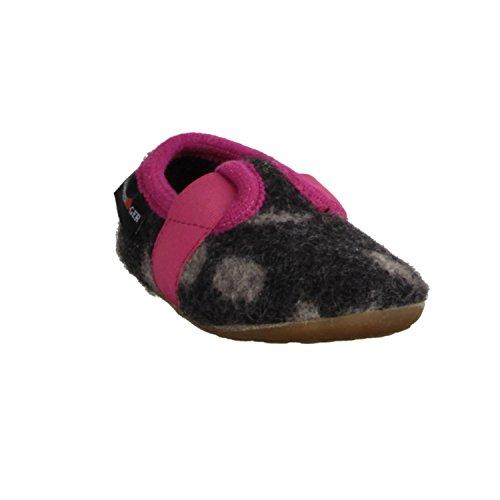 Haflinger Everest Joleo 482010-77- Haus - hÜttenschuhe Kinder Hausschuhe, Grau