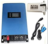 XIAOYANGKEJI 1000W Battery Backup MPPT Solar Grid Tie Inverter with Limiter Sensor DC22-60V AC PV Connected (DC22-60V, with WiFi)