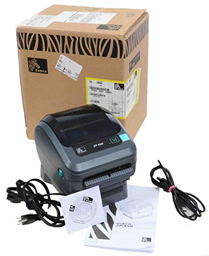 Zebra ZP450-0501-0006A CTP High Speed Direct Thermal Label Printer - Laser Speed Printer Desktop High