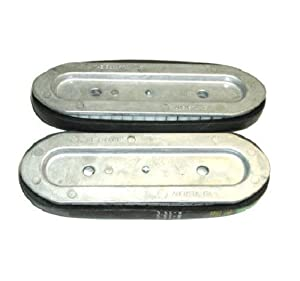 [2] Stevens Crawler Belt for Appliance Dollies w Stair Climbers (One Set of 2)
