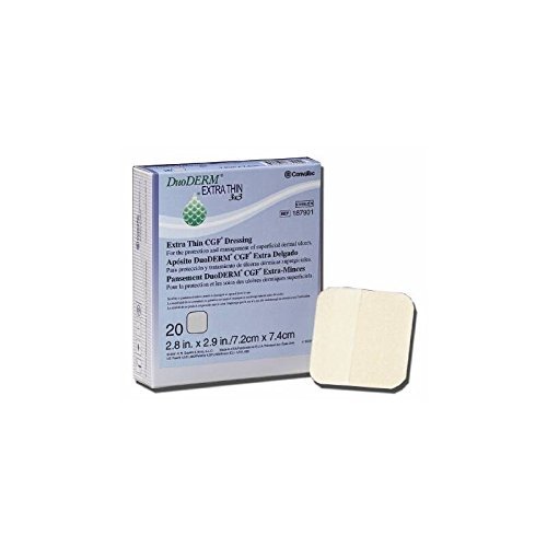 - DuoDERM 187902 Extra Thin Hydrocolloid Dressing, Box of 10