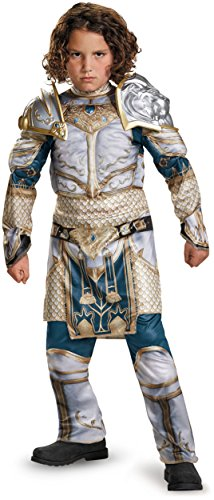 King Llane Classic Muscle Warcraft Legendary Costume, Medium/7-8 -