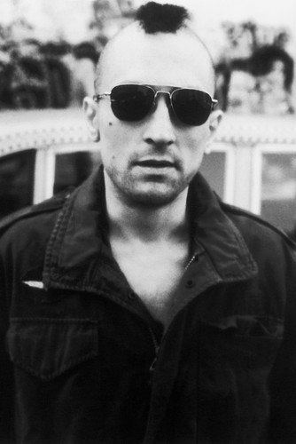 62fa25c800282 Robert De Niro in Taxi Driver 24x36 Poster classic Mohican hair cut and  sunglasses at Amazon s Entertainment Collectibles Store