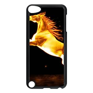 iPod Touch 5 Phone Cases Black Horse MN3389394