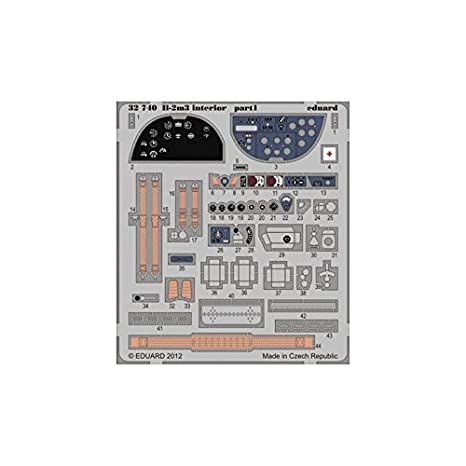 Amazon.com: IL-2m3 Interior for HBO (Painted Self Adhesive) 1/32 ...