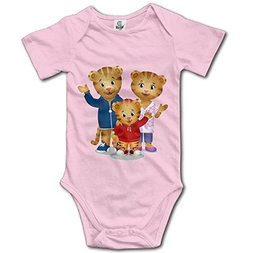 Daniel Tiger Family Designed Baby Unisex Jumpsuits -
