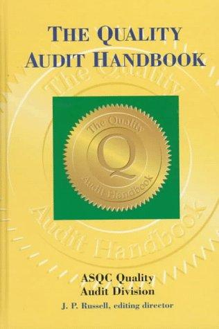 The Quality Audit Handbook