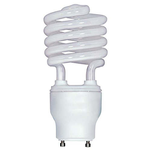 (Pack of 6) Satco S8233, 26W CFL T3/GU24/3500K/120V/1PK S8233 Twist Style Twist and Lock Base, Compact Fluorescent Light Bulb