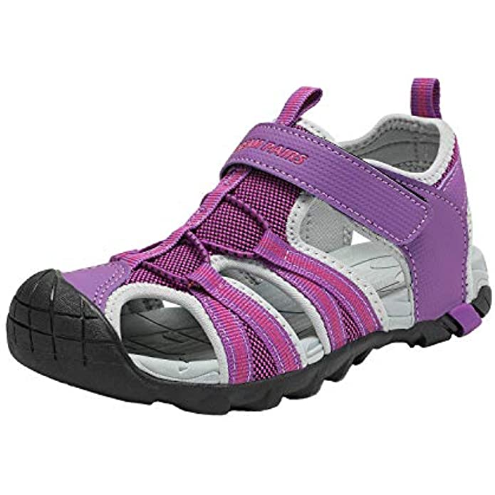 DREAM PAIRS Boys Girls Outdoor Summer Sandals