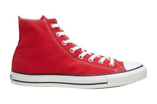 Converse Chuck Taylor Hi Top Red Shoes M9621 Mens 6