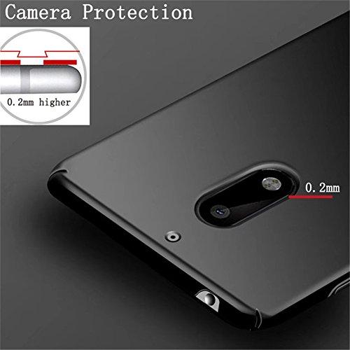 Rouge Slim Étui nokia Coque Antichoc Cover Pour Protection scratch Ultra 2017 6 Anti Rigide Nokia Adamark Noir Back Shell Pc Récurer Case Housse Bumper 2017 gCqwACY