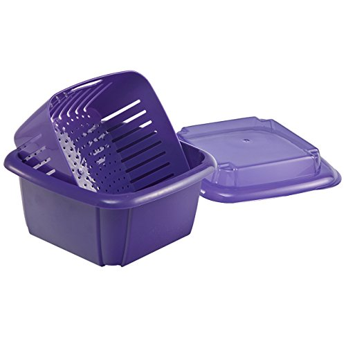 (Hutzler 3-in-1 Berry Box, Violet)