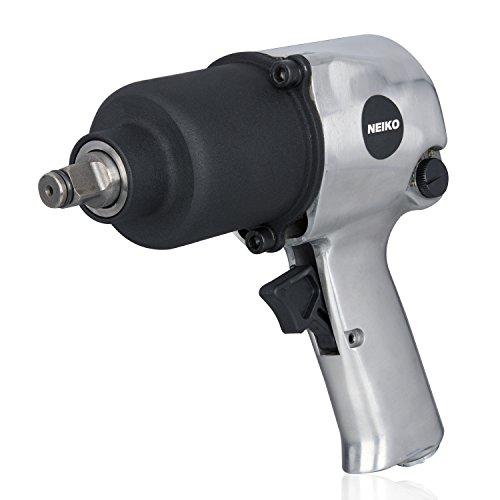 Neiko 31390A Short Shank Twin Hammer Impact Wrench, 1/2