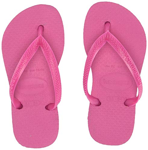Havaianas Little Kid Slim, Hollywood Rose, 27/28 BR(11-12 M US Toddler)