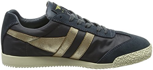 Gola Women Harrier Nylon Graphite/Gold Sneakers Grey (Graphite/Gold Gy)