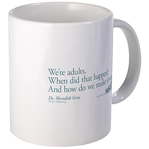 CafePress Adults Anatomy Unique Coffee