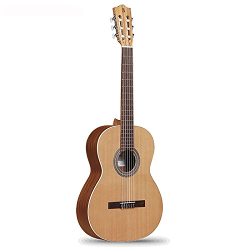 Classical Rosewood Indian Guitar Solid - Open Pore Z-Nature Classical guitar, solid red cedar, mahogany, Indian rosewood. Alhambra. Spain