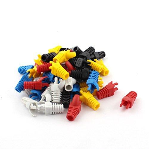 Amazon.com: eDealMax 50Pcs carcasa de plástico de Colores de ...