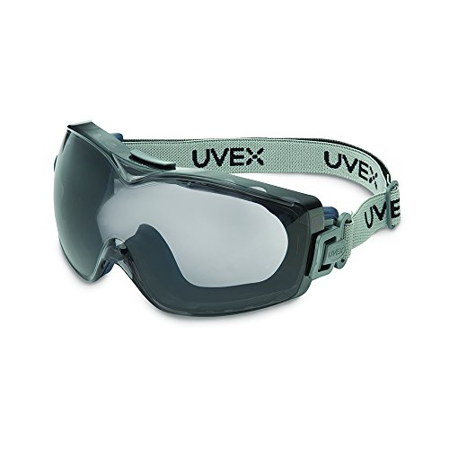 Uvex Stealth OTG Safety Goggles with Anti-Fog/Anti-Scratch Coating (S3971D)