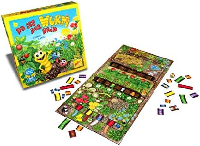 Zoch 601132100 - Juego de Mesa Da ist Der Wurm drin (Instrucciones en alemán, francés, inglés e Italiano): Amazon.es: Juguetes y juegos