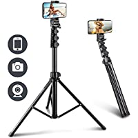 UBeesize 67'' Phone Tripod Stand & Selfie Stick Tripod, All in One Professional Cell Phone Tripod, Cellphone Tripod with…