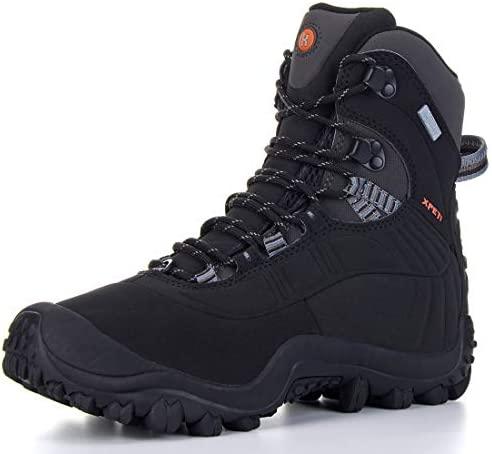 XPETI MEN THERMATOR MID-RISE WATERPROOF HIKING TREKKING INSULATED OUTDOOR BOOTS