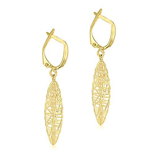 Carissima Gold - Boucles d'oreilles clous - Or jaune 9 cts - 1.54.3889