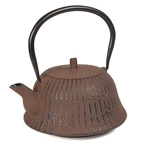 cast iron tea pot 40 oz - 3