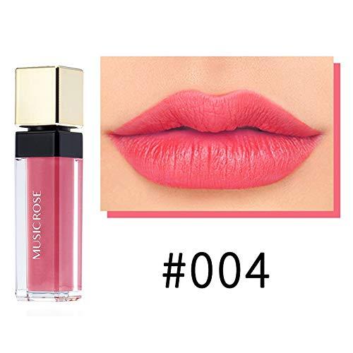 Little Story Popular Square Tube 12 Color Bright Metal Lip Gloss Non-Stick Cup Lip Glaze