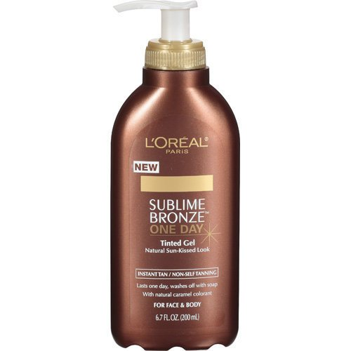 L'Oreal Paris Sublime Bronze One-Day Tinted Gel, 6.7-Fluid ()